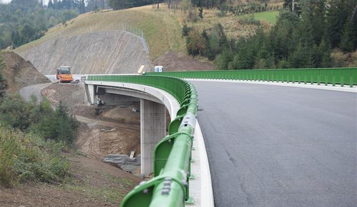 FOTO: Obchvat Velkého Beranova už se rýsuje. Řidiči ho poprvé otestují 30. října