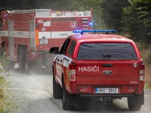 Hasiči bojovali s požárem ubytovny. Zásah se obešel bez evakuace, lidé odešli sami