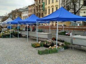 Tržnice na jihlavském náměstí bude fungovat jen do pátku. Pak se předčasně uzavře