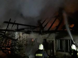 Další den, další požár domu na Vysočině. Škoda se dostala na milion korun