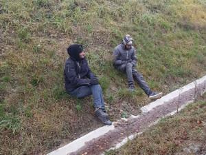 Až do Německa se nedostali. Na dálnici byli zadrženi další dva migranti z Maroka bez dokladů