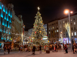 Navštivte vánoční Brno