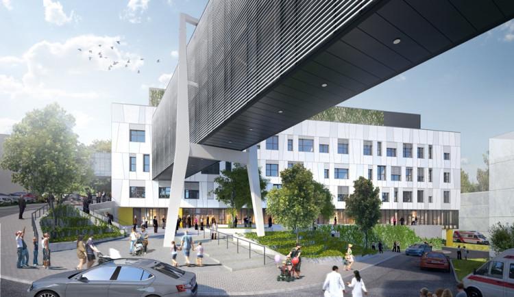 V pelhřimovské nemocnici začala stavba nového pavilonu. Přinese určitá omezení