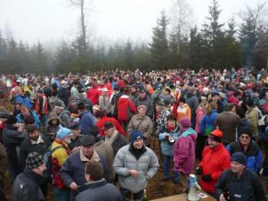 Na vrchu Javořice si ani letos turisté na Silvestra nepřipijí. Novoroční sbírka ale bude