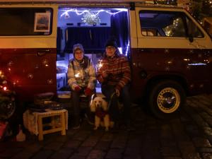 FOTO: Vysočinou projel Vánoční autobus. Jeho putování pomohlo dětem z domova