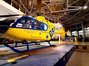 Letecká záchranka má na Vysočině nového provozovatele i typ vrtulníku. Kvůli počasí zatím nevzlétl