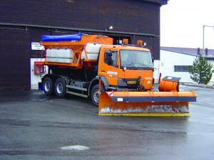 První den s novým sněhem za námi. Jak probíhala středeční údržba silnic na Vysočině?