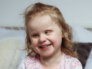 Tinka (4) z Jihlavy trpí mozkovou slepotou. Diagnóze jsme nemohli uvěřit, říkají rodiče