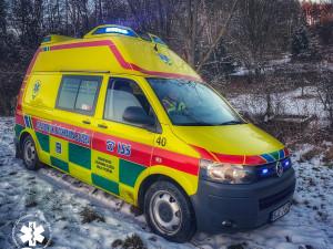 U Havlíčkova Brodu srazilo nákladní auto chodce, je těžce zraněný. Na místo letěl vrtulník