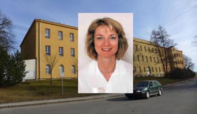 Psychiatrická nemocnice Jihlava má novou ředitelku, jmenována byla Dagmar Dvořáková