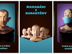 Babišek či Blaťas jako virtuální mazlíček? Student přišel s originální mobilní hrou