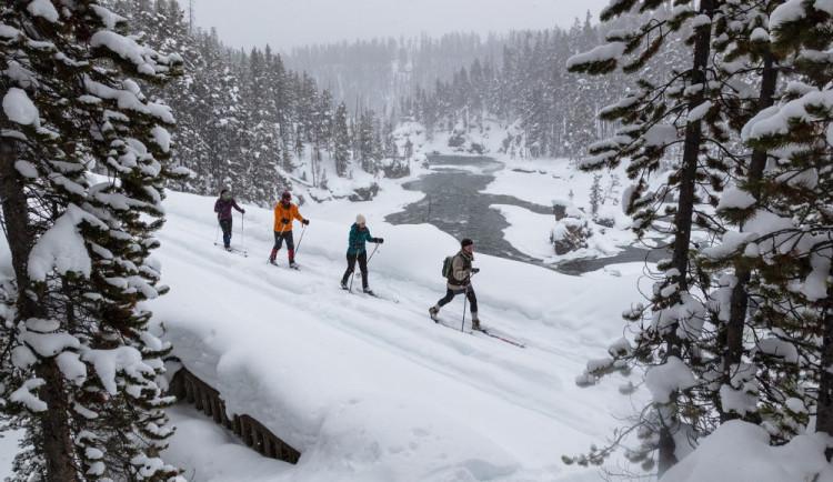 V kraji mizí sníh pro běžkaře. Lyžovat můžeme třeba ještě u jihlavského amfiteátru