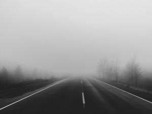 Na Vysočině byla v noci mlha a teploty pod nulou, silnice namrzly. Od půlnoci se stalo 7 nehod