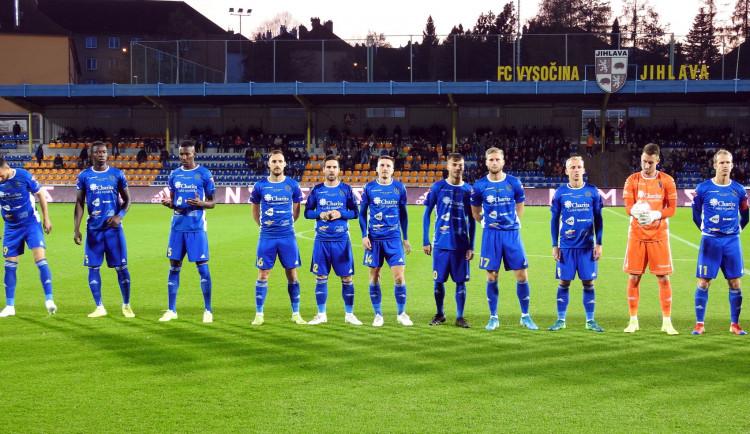 Vysočina dohrávku s Ústím nad Labem nezvládla, po prohře 1:2 zůstává desátá