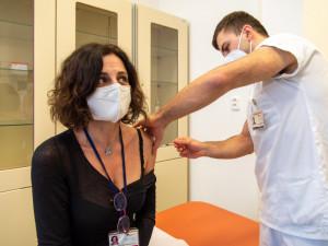 Registrační systém se otvírá další skupině, očkovat se mohou chronicky nemocní. Vysočina přidá další centra