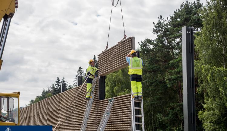Výstavba protihlukové stěny podél Pávova získala stavební rozhodnutí. Přihlásilo se 5 zájemců