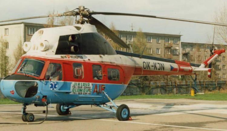 Jihlavská letecká záchranka slaví 30 let. Podívejte se, jakými vrtulníky se zachraňovaly životy
