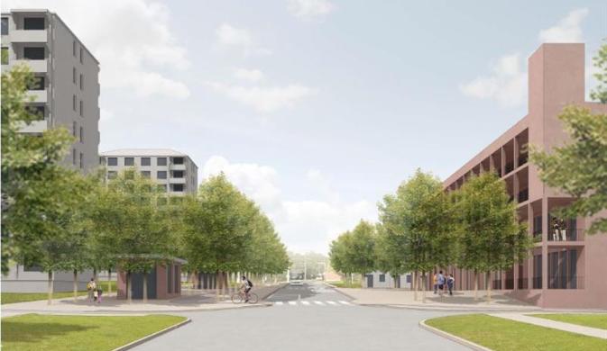 Co se chystá na Dolině mezi školkou a zastávkou? Kromě nových bytů i zubař nebo podzemní parkoviště