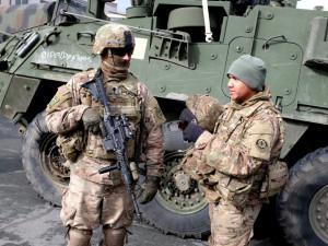 Americký konvoj dorazí do tábora u Jihlavy v neděli nad ránem. V Rančířově je prostor pro izolaci