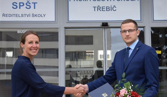 Novou ředitelkou Střední průmyslové školy Třebíč bude Petra Hrbáčková
