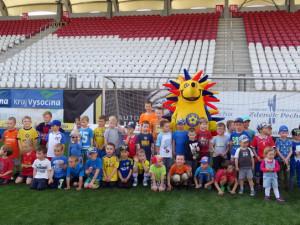 Pojď s námi hrát fotbal! FC Vysočina ve středu pořádá nábor nových fotbalových nadějí