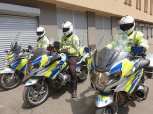 Policisté na Vysočině kontrolovali řidiče v autech i motorkáře. Nejčastěji pokutovali překročení rychlosti