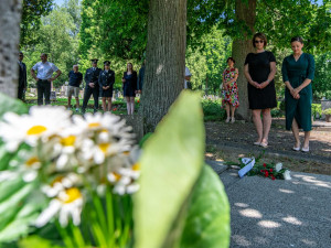 Rod, Tuček, Veselý. Jihlava si připomněla oběti politických procesů v 50. letech
