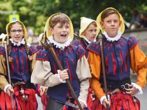 Víkend patřil havířským slavnostem, tradiční průvod prošel od pátku do neděle třikrát Jihlavou