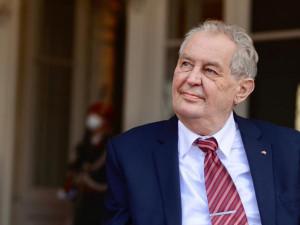Prezident Zeman bude dnes mít mimořádný projev. Vyjádří se k situaci na jihu Moravy