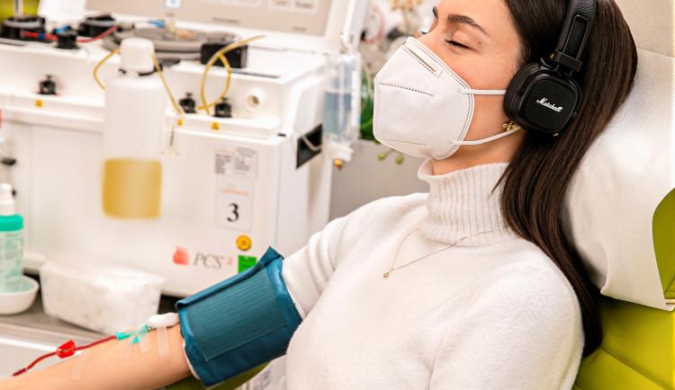 Darujte krevní plazmu! Kromě dobrého skutku na vás čeká i finanční odměna
