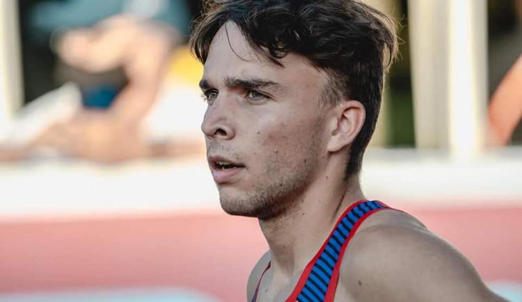 Juniorský vicemistr Evropy pochází z Třeště. Eduard Kubelík zazářil ve finále dvoustovky, překonal i národní rekord