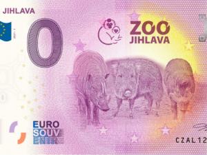 Jihlavská zoo bude vydávat sběratelské bankovky, tentokrát s motivy prasat
