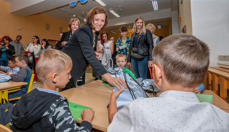 Nový školní rok na Vysočině zahájí zhruba 66 tisíc žáků. Do první třídy nastoupí 5216 prvňáčků