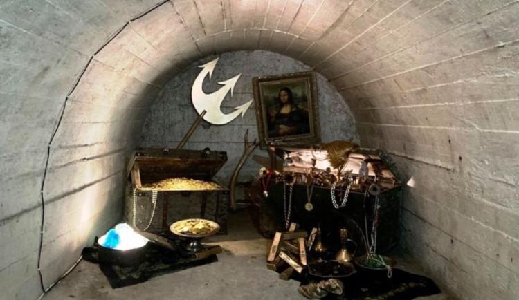 Na výletě do podzemí v Telči. Za čerty, Mona Lisou a zaslouženým pokladem