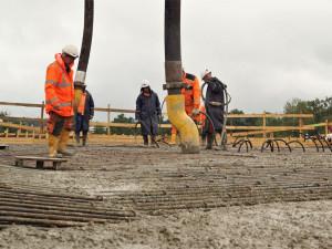 Dělníci pokračují ve výstavbě obchvatu Havlíčkova Brodu. Podívejte se na aktuální fotky
