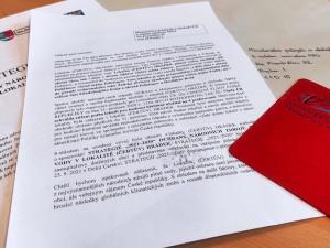 Lokalita Hrádek poslala ministrovi červenou kartu. Přečtěte si dopis, který Havlíček našel ve schránce