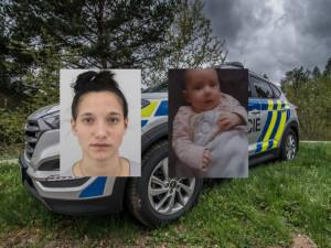 Policie hledá Adélu, která se nevrátila z procházky s tříměsíční dcerou. Měla by mít červenobílý kočárek
