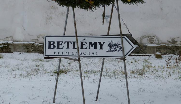 Betlémská cesta v Třešti na Jihlavsku