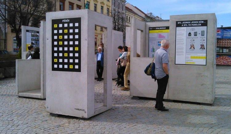 Výstava o panelových domech v Jihlavě