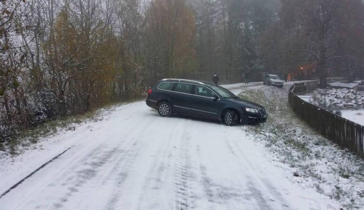 První sníh na Vysočině očima čtenářů Jihlavské Drbny