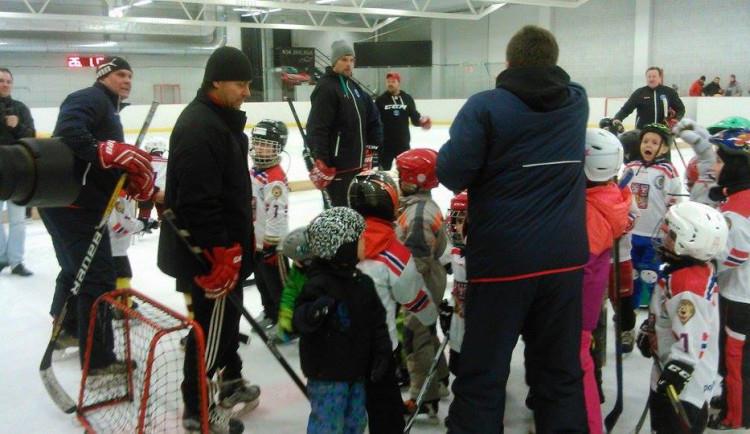 Kampaň Týden hokeje na Horáckém zimním stadionu