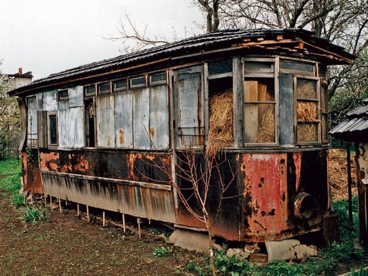 Jihlavský vagón nalezený na Opavsku