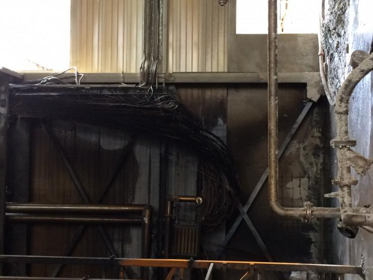 Požár v jihlavském Kronospanu - den poté