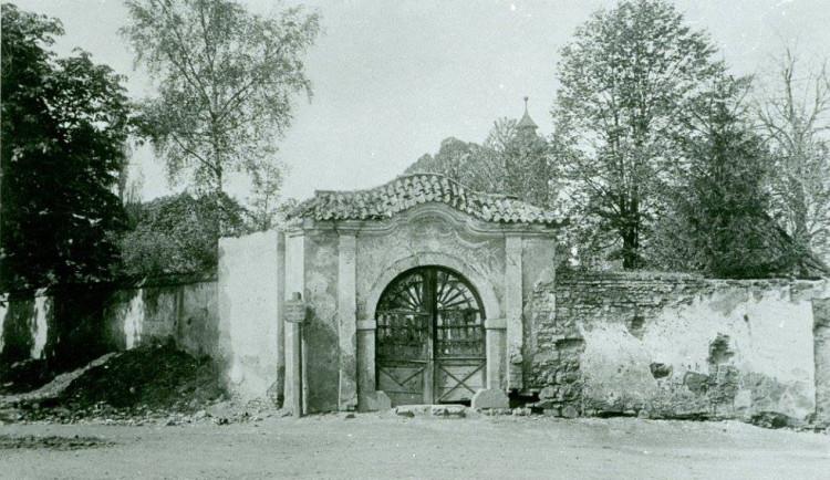 Starý jihlavský hřbitov u svatého Ducha