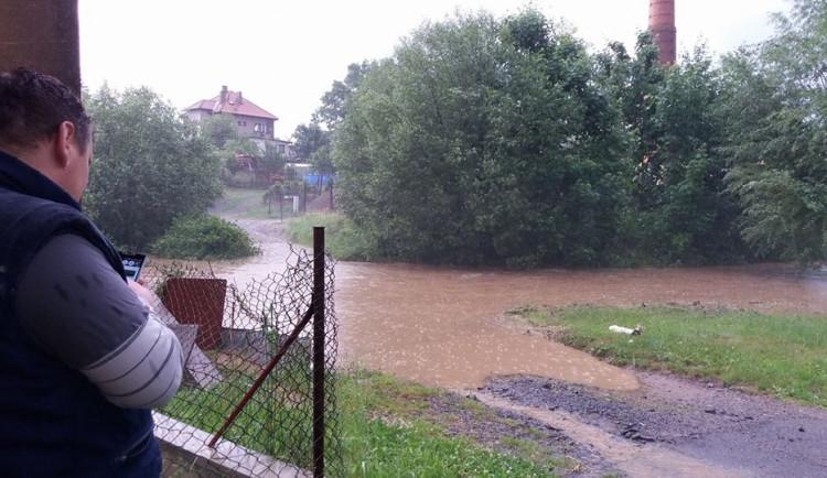 Přívalové deště na Vysočině, červen 2018