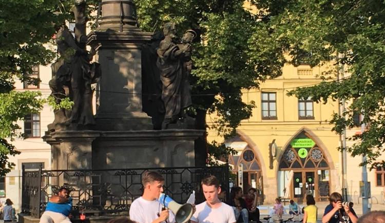 Protesty proti vládě Andreje Babiše v Jihlavě, 5. června 2018