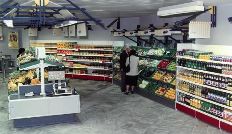 První supermarket v ČR - jihlavská Mana