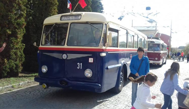 Historické trolejbusy v Jihlavě