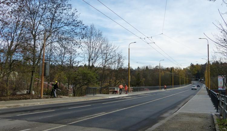 Otevření Brněnského mostu po rekonstrukci