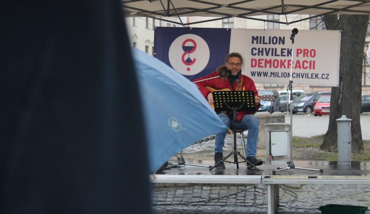 Štafeta pro demokracii v Jihlavě